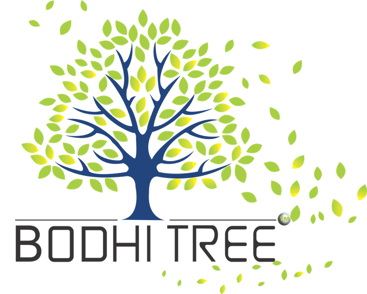 Bodhi tree Logo TM green