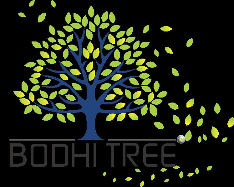 Bodhi tree Logo TM green
