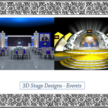 3D Stage Designs - Events