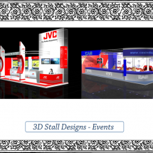 3D Stall Designs - Events